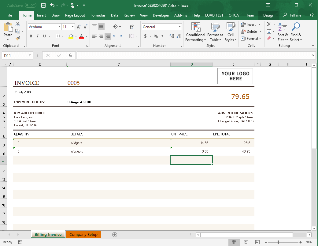 Generate an Excel Spreadsheet from your Node.js Application