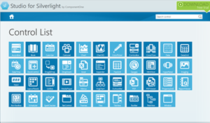 ComponentOne for Silverlight 控件管理器